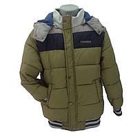 Детская демисезонная куртка мальчику 66XAKI 86, 92, 98, 104,110, 116, 122, 128  см  Хаки