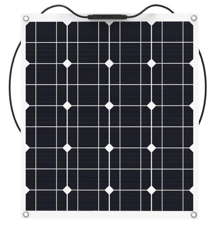 Гибкая солнечная батарея 50 Вт 12 В (BSP 32-50)