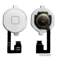 Кнопка Home APPLE iPhone 4G белая