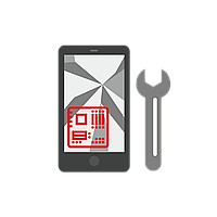 Замена дисплея iPhone 5S, белый, с сенсорным экраном, с рамкой, High Copy