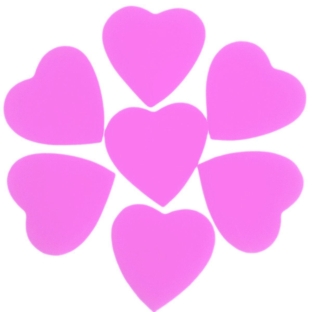 Конфетти сердце розовое, 50 г
