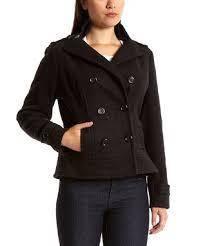 Женская драповая укороченная куртка YOKI США размер RU52, фото 2