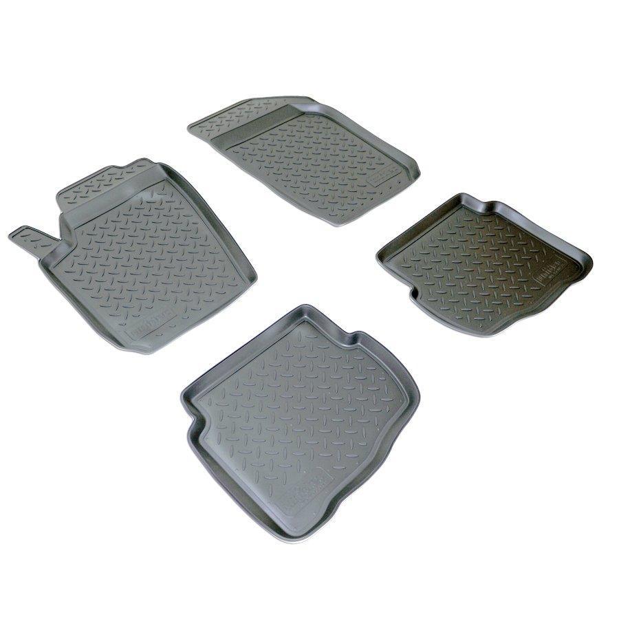 Коврики в салон для Seat Ibiza III (02-08) (полиур., компл - 4шт) NPL-Po-80-25