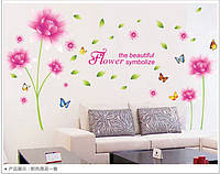 Распродажа - наклейка на стену  Розовый лотос