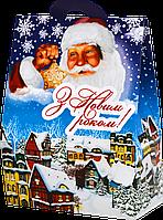 Новорічна упаковка Хатинка Місто для сладостей 500 г
