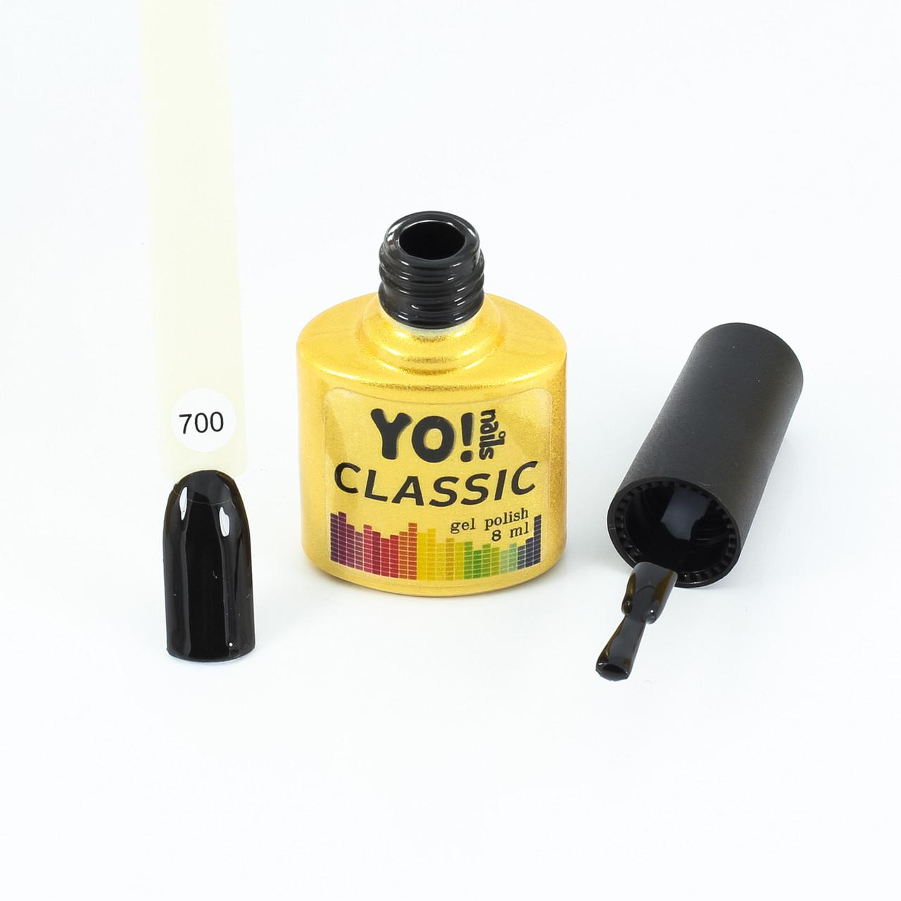 Гель-лак  CLASSIC от Yo!Nails, цвет 700