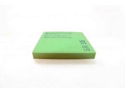 Sylomer SR 55 зеленый Предельная статическая нагрузка 0.055 Н/мм2, фото 2