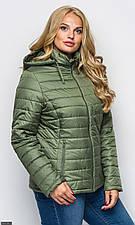 Куртка 858405-3 хаки Осень-Зима 2018  с 50 по 60 размер  (мш)
