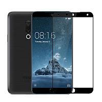 Защитное стекло Meizu 15 Plus 5.95'' Full cover черный 0,26мм в упаковке