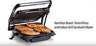 Гриль, сендвичница и барбекю Hamilton Beach SAU-25451 1200 Вт.