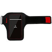 Спортивный чехол на руку Baseus Flexible Wristband  для телефонов до 5'' , фото 1