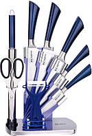 Набор ножей из нержавеющей стали на подставке 9 пр Rainstahl RS/KN-8005-09