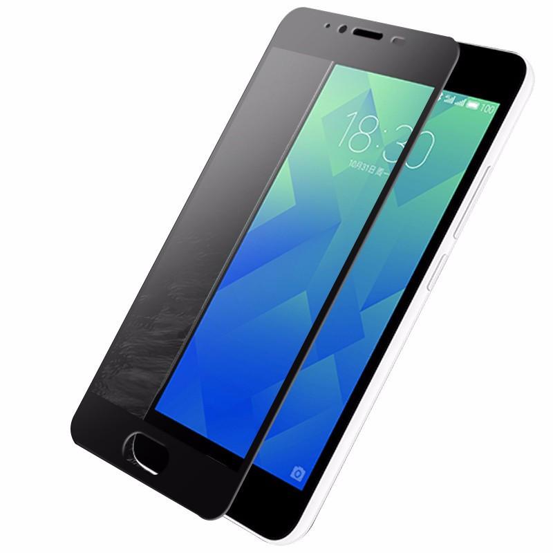 b6b92abb5d9d Купить Защитное стекло Meizu M5 Full cover черный 0,26мм в упаковке ...