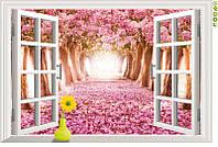 Распродажа - наклейка на стену Вишневый сад