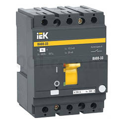 Автоматический выключатель ВА88-33 3P 160А 35кА, IEK