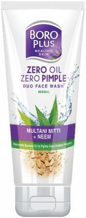 Боро Плюс Гель для умывания против прыщей, Boroplus Zero Oil Zero Pimple 60 мл