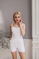 Комбинезон-шорты белый, арт.1005, фото 1
