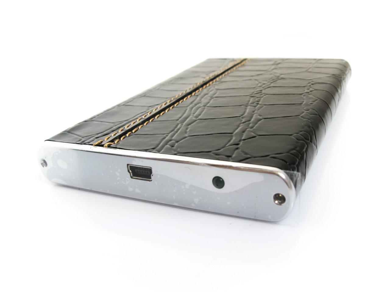 Внешний карман для HDD 2.5 дюймов, USB 2.0, 3QHDD-U225-EB, чёрный крокодил, аллюминий