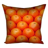 Подушка с принтом Апельсинки (3P_NGNAS055)