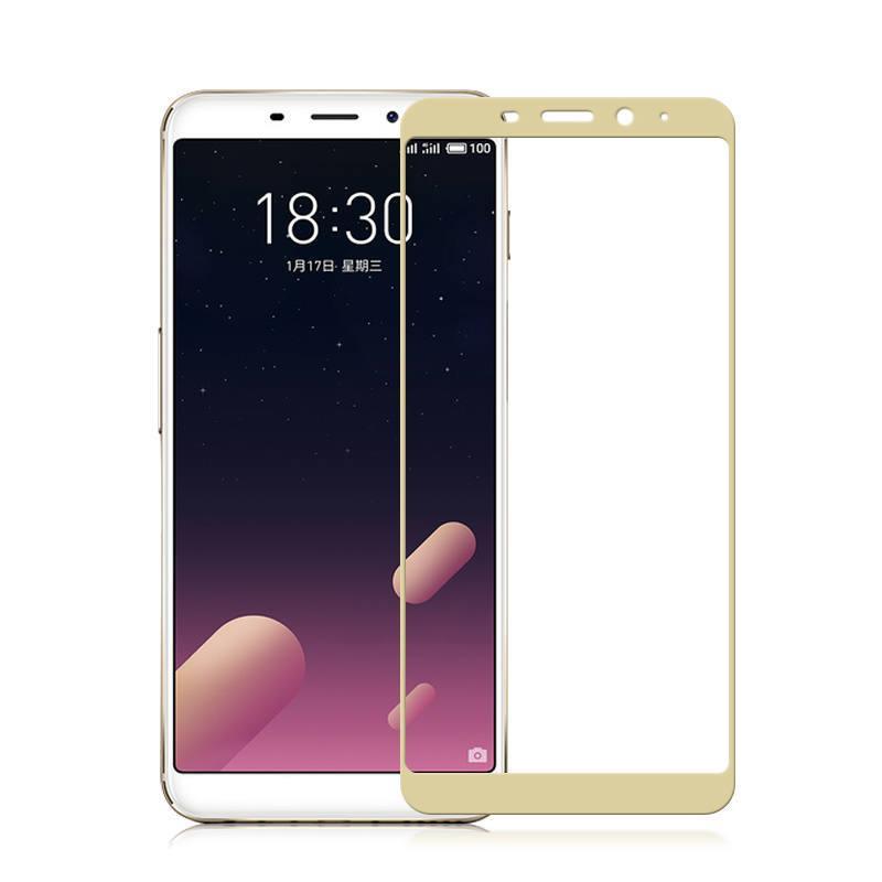 cc2b01aebd04 Купить Защитное стекло Meizu M6S 5.7   Full cover золотой 0,26мм в ...