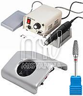 Набор для аппаратного маникюра и педикюра Strong 90/102L с насадкой и настольной вытяжкой