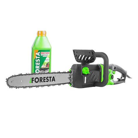 Электропила цепная Foresta FS-2840DS + масло для цепей БЕСПЛАТНАЯ ДОСТАВКА, фото 2