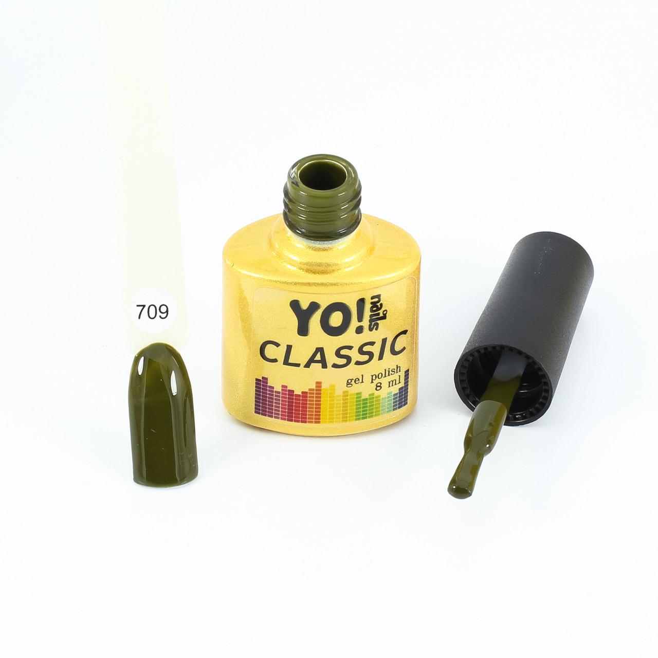 Гель-лак  CLASSIC от Yo!Nails, цвет 709
