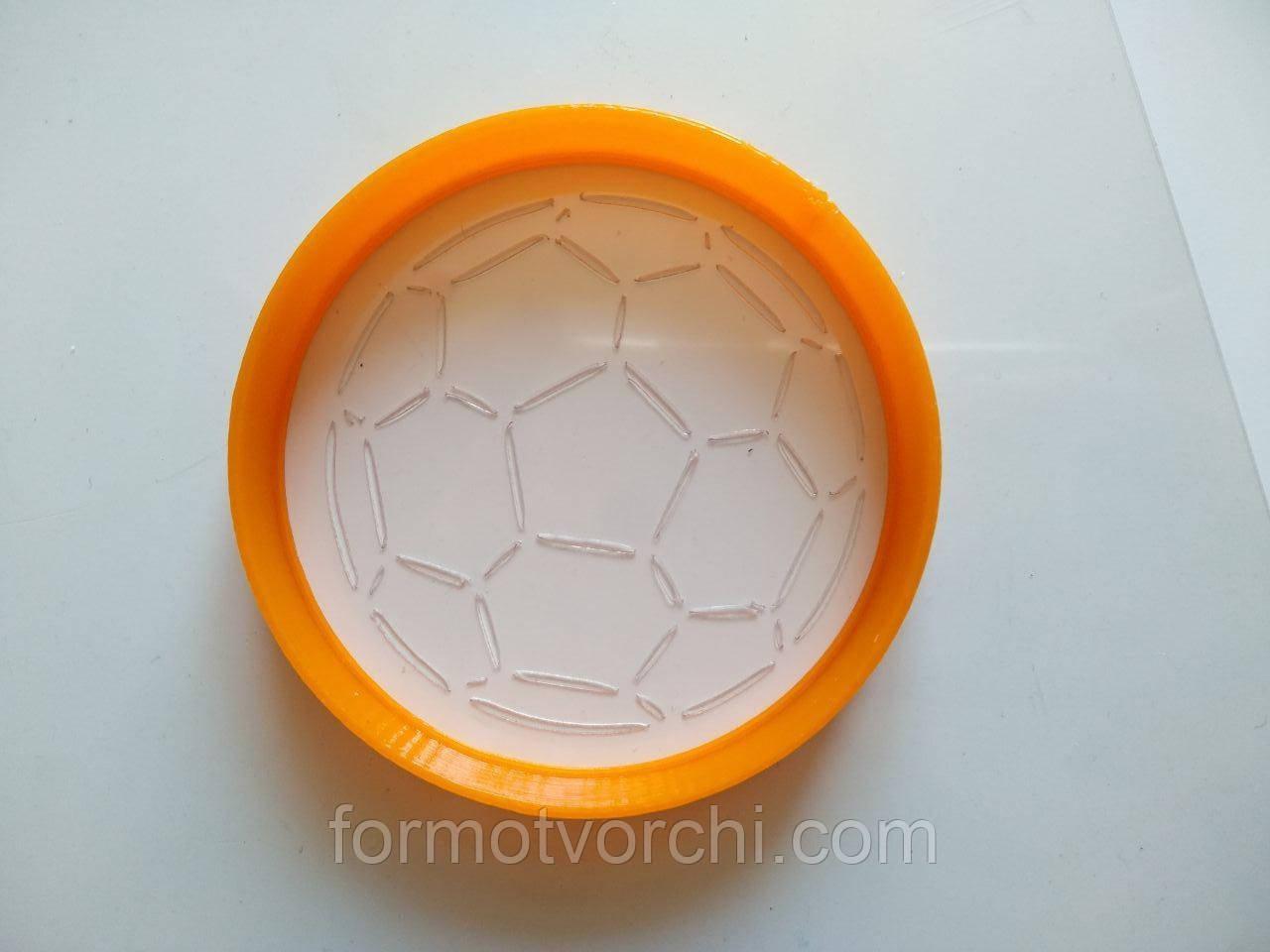 """3D формочки-вырубки для пряников """"Футбольный мяч"""""""