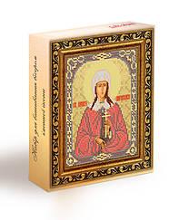 Набор для вышивания бисером икона Святая Параскева (Прасковья)