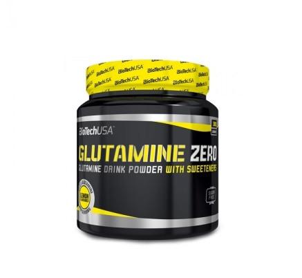 Глютамин BioTech - Glutamine Zero (300 грамм) ice tea-peach/айс ти-персик