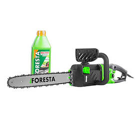 Электропила цепная Foresta FS-2840D + масло для цепей БЕСПЛАТНАЯ ДОСТАВКА