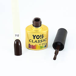 Гель-лак  CLASSIC от Yo!Nails, цвет 712