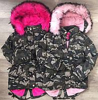 Зимняя куртка-парка для девочек Taurus 8-16 лет