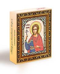 Набор для вышивания бисером икона Святая Мученица Василиса