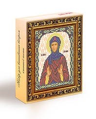 Набор для вышивания бисером икона Святая Ангелина