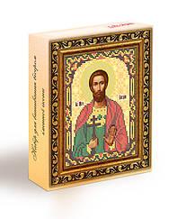 Набор для вышивания бисером икона Святой Мученик Богдан