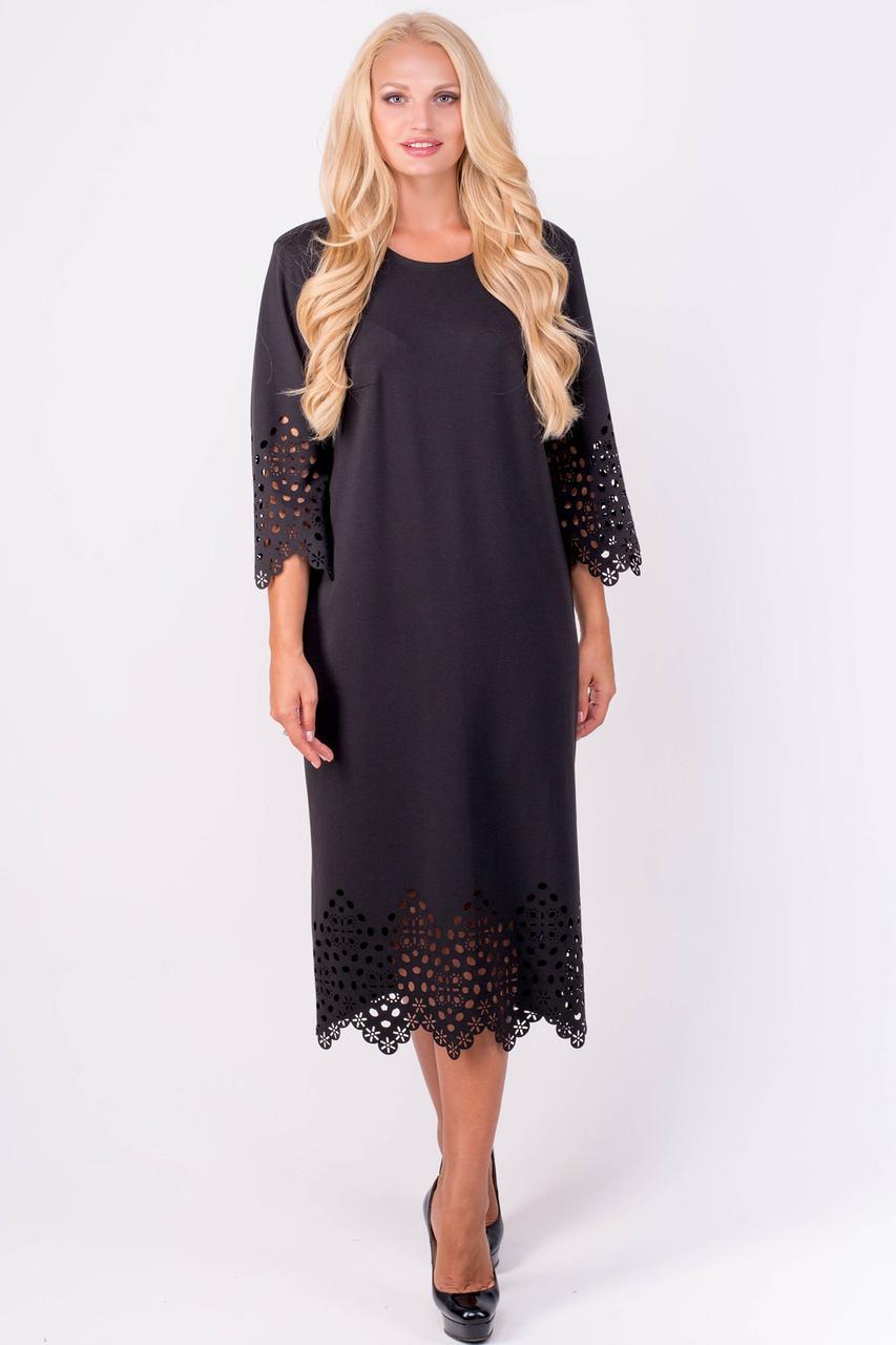 """Платье женское """"Кайла Блек"""" размеры от 52 по 60"""