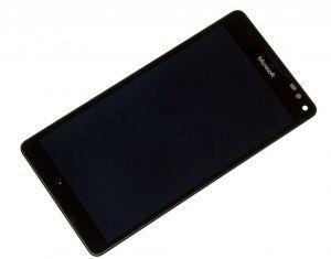 Дисплей с тачскрином Nokia 950 XL Lumia Dual Sim черный в рамке (HQ)