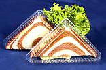 Одноразовая упаковка для бутербродов арт.21Р, фото 2