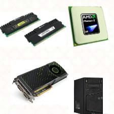 Персональный компьютер AMD X4 965 3.4GHz, NVIDIA GTX560 1024MB DDR5(256bit), 8GB RAM!
