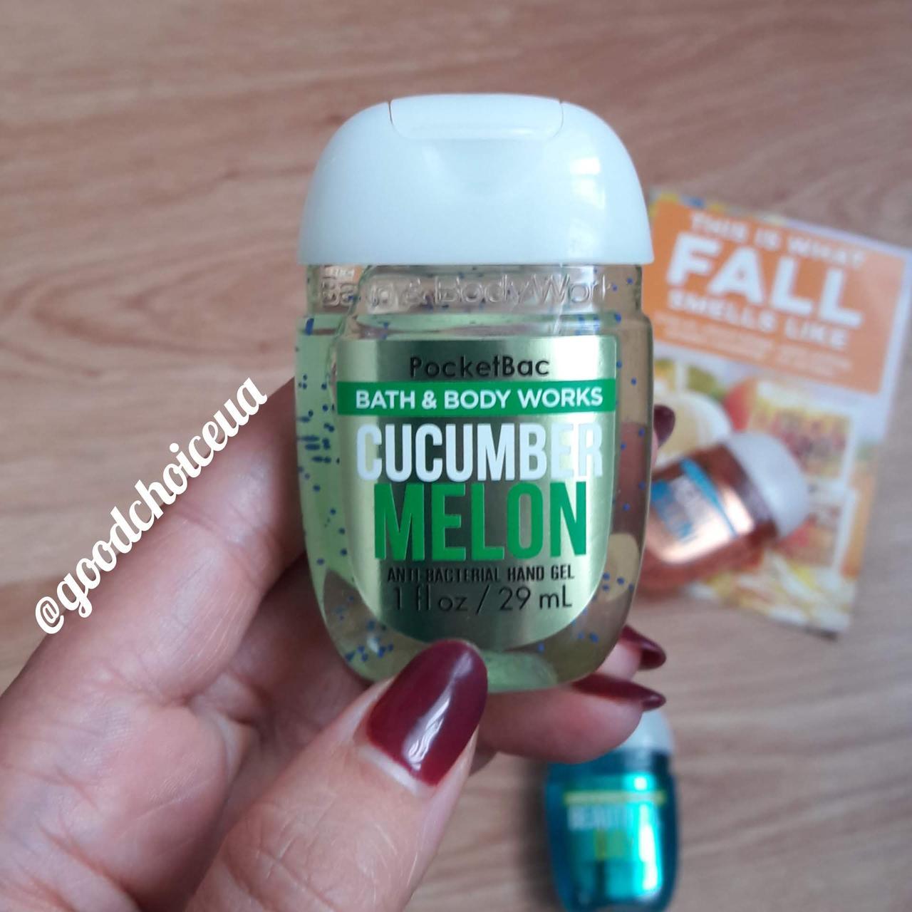 Антибактериальный гель для рук Bath&Body Works - Cucumber Melon