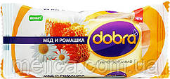 Туалетное мыло Dobra Мед и Ромашка - 60 г.