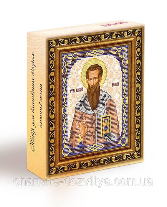 Набор для вышивания бисером икона Святой Василий