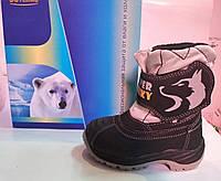 Дитячі зимові термо-черевики B&G Хаскі 22-14, фото 1