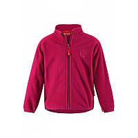 Флисовый кардиган Cory для девочек 1-3 лет (р. 80-98) ТМ Reima Малиновый 516399