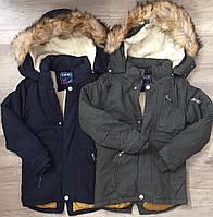 Куртка утепленная для мальчиков оптом, Taurus, 4-12 лет,  № X-35, фото 1