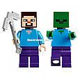"""Конструктор Bela 10390 """"Подземелье"""" Майнкрафт, 219 деталей. Аналог Lego Minecraft 21119 , фото 6"""