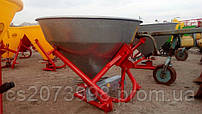 Разбрасыватель минеральных удобрений (РУМ) на 650 кг (железо) Лейка 650кг