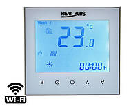 Терморегулятор Heat Plus iTeo4 Wi-Fi, white