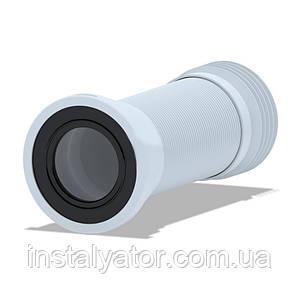 АНИ Гибкая труба (К928) для унитаза армированная D-110 мм длина 230 мм-500 мм